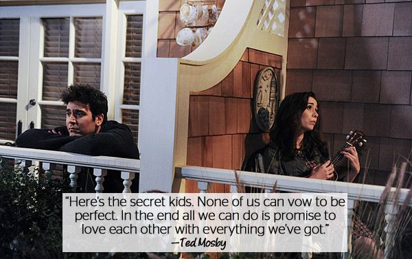 Quotes About Love How I Met Your Mother : ... Love Quotes From How I Met Your Mother Mothers love quotes, Ted