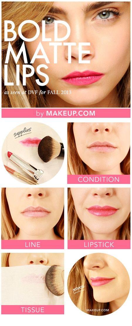 tuto bouche pulpeuse rose bonbon par Makeup.com
