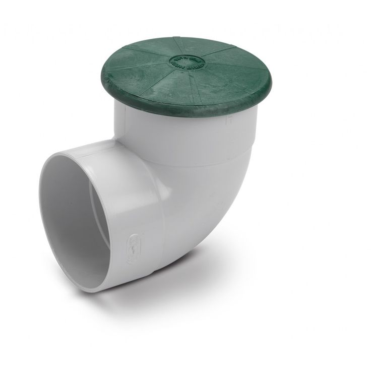 DPUV4E - Drainage Pop Up Relief Valve with 4 Inch PVC Elbow