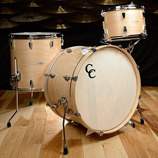 CC 12th Vine 13 16 22 Big Beat Maple Poplar 3pc Kit Natural Satin Drum Set Pearl Drums Kids Kits For Sale Cheap