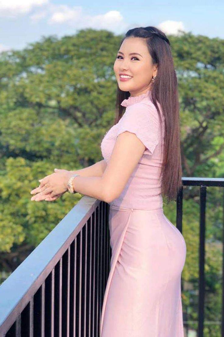 Myat Thu Thu Zin  Chinese Gal In 2019  Beautiful Asian -1633