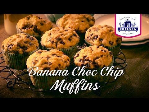 Chelsea Banana Chocolate Chip Muffin Recipe | Chelsea Sugar