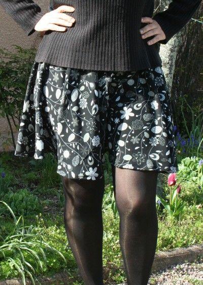 patron jupe cercle Self couture, merci pour ce pas à pas très clair et complet