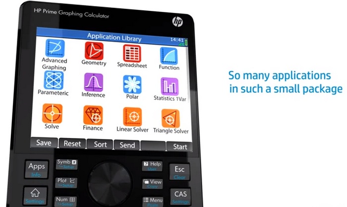 #HP Prime, une superbe #calculatrice scientifique avec écran tactile couleur ! (vidéo)