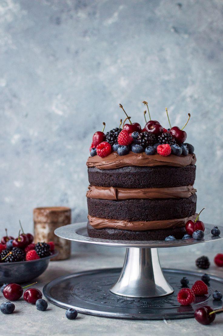 Donna Hay Chocolate Ganache Cake