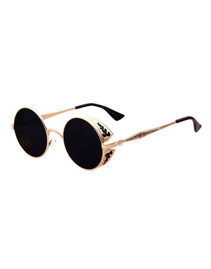 Eighty6 Ornament Gold Sunglasses