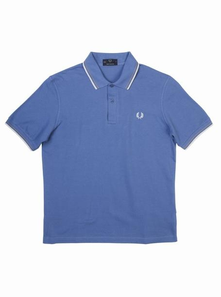 brooksfield FRED PERRY LAUREL WREATH POLO - M12 ScholBlue