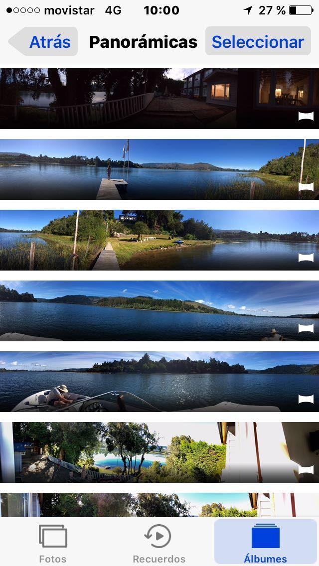 Es un tranquilo y maravilloso lago...