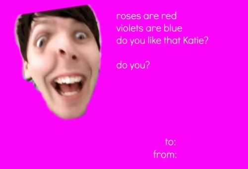 Omg I laughed out loud XDXDthats the first video I watched of – Youtube Valentines Day Cards