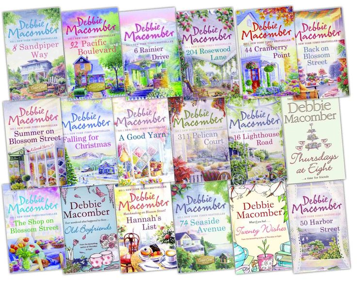 Debbie Macomber's Cedar Cove Series - one of the best series I have read.  Now watching the Hallmark Channel series!