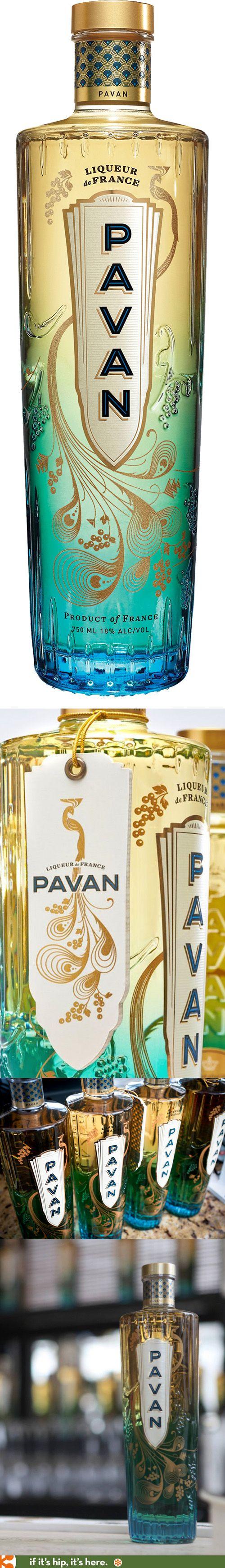 Pavan Liqueur's peacock-inspired bottle is one of the prettiest I've ever seen.