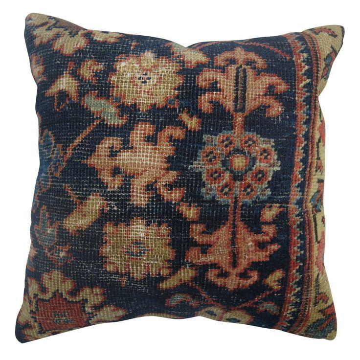 Blue Persian Mahal Pillow