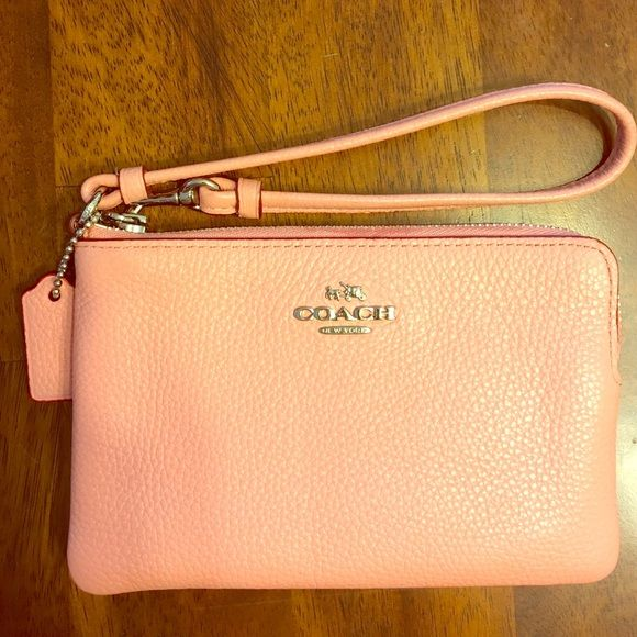 New Coach wristlet. Brand new never used coach wristlet. Coach Bags Clutches & Wristlets