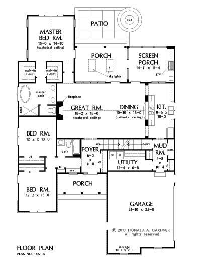 162 best house plans 1800 2200 sq ft images on pinterest for House plans no basement