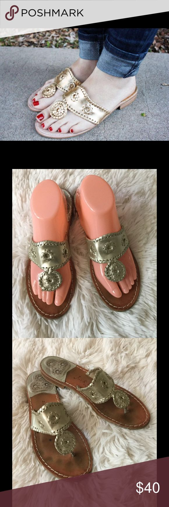 🌴🌴Jack Rogers sandals 🌴🌴 🌴Super cute sandals some wear look closer at the photo however they have a lot life do not hesitate to make an offer 🌴 Jack Rogers Shoes Sandals