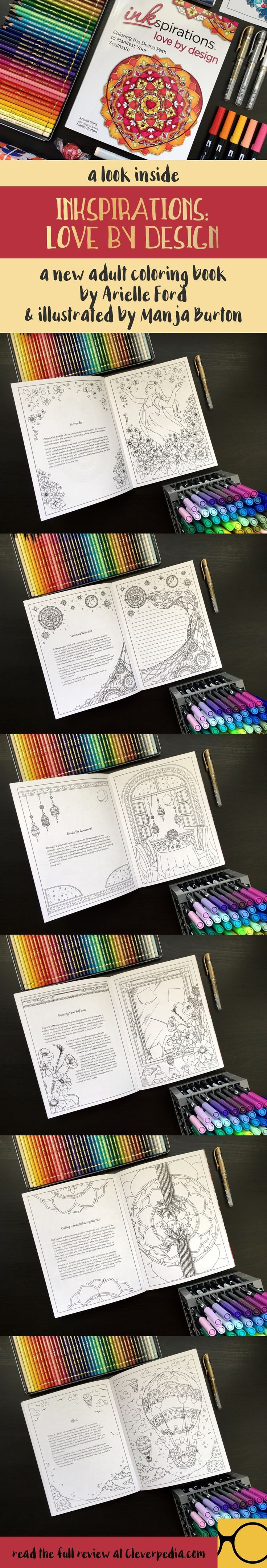 The coloring book quinn review - A Look Inside Inkspirations Love By Design A New Coloring Book To Help You