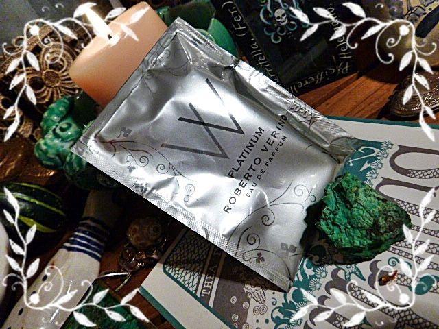 Roberto Verino VV Platinum Eau de Parfum 1.5mL Sample Women Mysterious Elixir #RobertoVerino