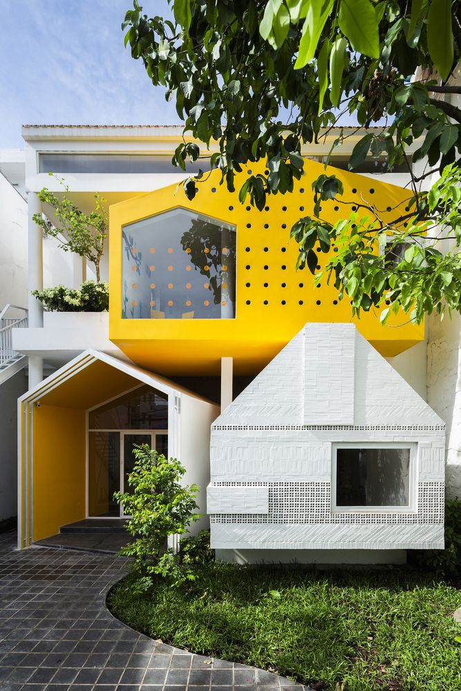 Gallery - Chuon Chuon Kim Kindergarten / KIENTRUC O - 1