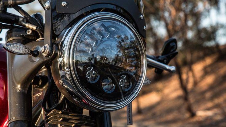 J.W. Speaker Model 8790 Adaptive Low Beam LED Headlight: a distinctive look in matt black