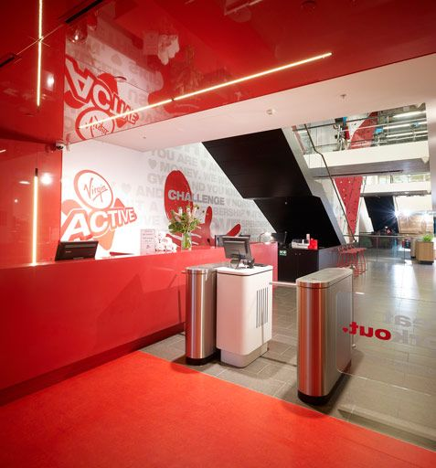 42 Best Home Gym Fitness Designs Images On Pinterest: Virgin Active Health Club In Sydney, NSW