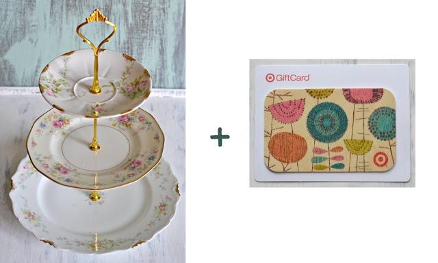 Curiositaellya: Valentine Giveaway {Limoges soporte de la torta + USD 25.00 Tarjeta de regalo de Target} - CERRADO