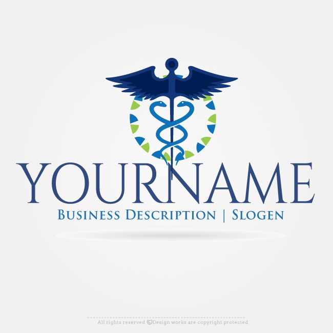 Free Logo Maker Create Logo Online Medical Logo Design Make Your own #Health & #medical  #logos Online using the Best #logoMaker