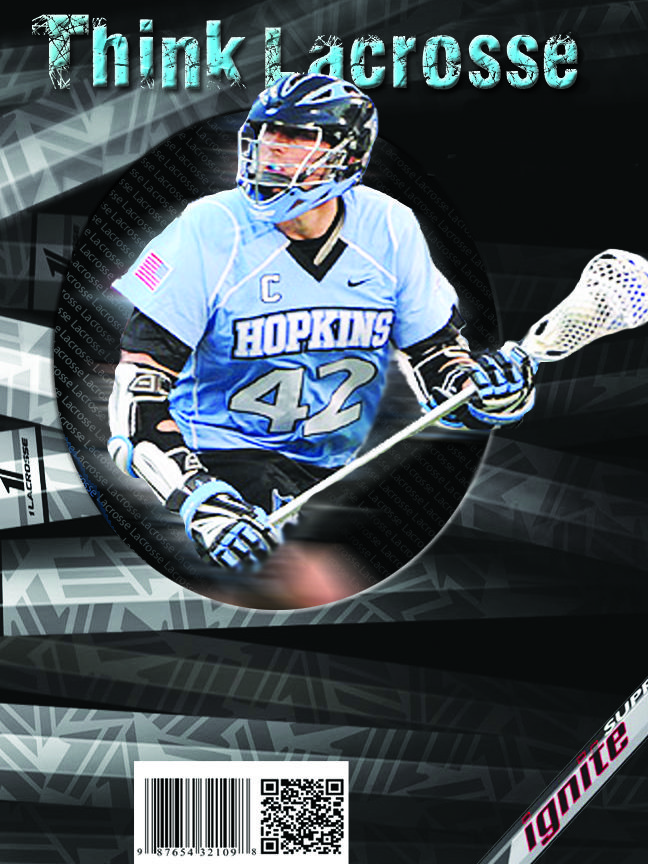 Think Lacrosse creative magazine cover design
