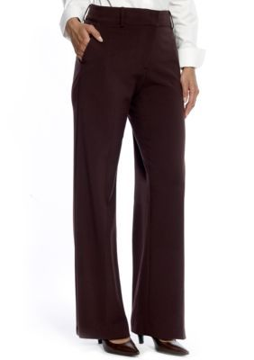 Kim Rogers Women's Perfect Fit No Gap Trouser - Brown - 12 Average
