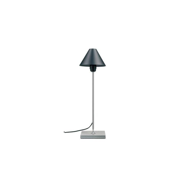 Mobles 114 Lámpara de mesa Gira 1978 Diseño JM Massana y JM Tremoleda. Lámpara de mesa articulada con base de fundición de acero pintada en gris grafito,...