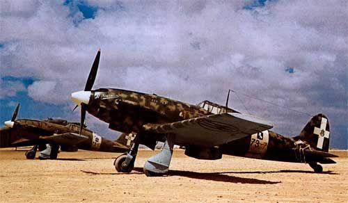 Macchi MC 202,73-7, 73 Squadriglia, 9 Gruppo, 4 Stormo, North Africa, 1942