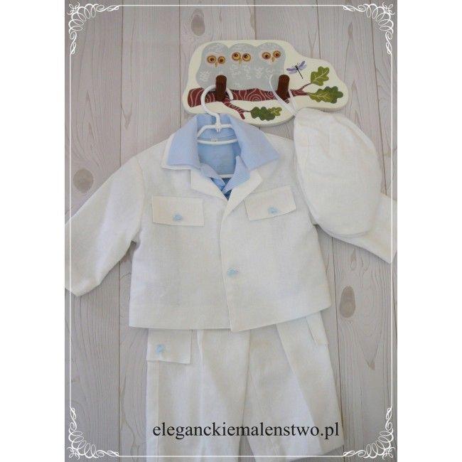 Elementem ozdobnym #ubranka do #chrztu są błękitne guziczki w kształcie autek, dzięki którym komplecik prezentuje się na prawdę ciekawie i oryginalnie. Idealny dla każdego przyszłego miłośnika motoryzacji.