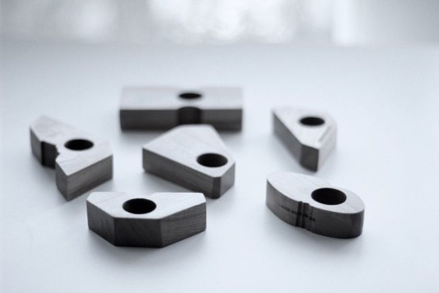 """Cherry Wood"" ring, Design Louise Bankander  #wood #rings"