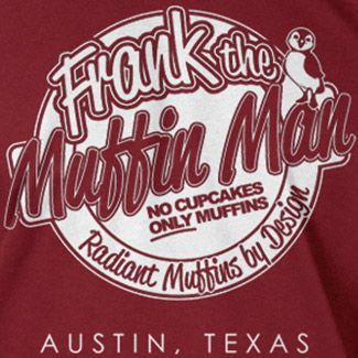 FRANK ZAPPA inspired MUFFIN MAN T-shirt
