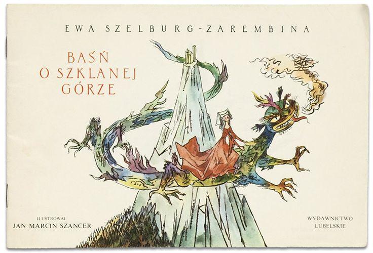 [illustration by Jan Marcin Szancer for 'Baśń o Szklanej Górze', 1972, from 50 Watt]