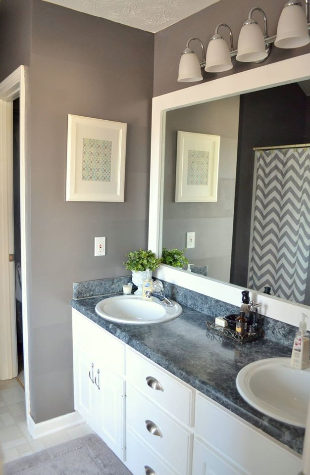 Magnet By Behr Marquee In 2019 Bathroom Makeovers On A