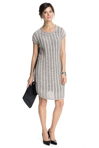 Esprit / two-tone dress