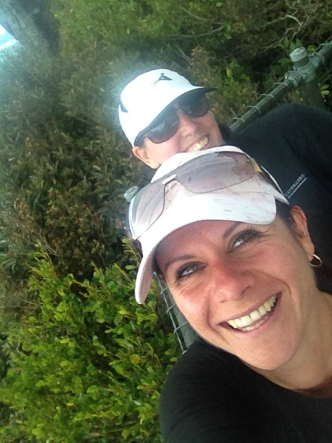 My smile says it all....Loving the walks and found another buddy to drag along to the top of the Pinnacles! #greatwalker