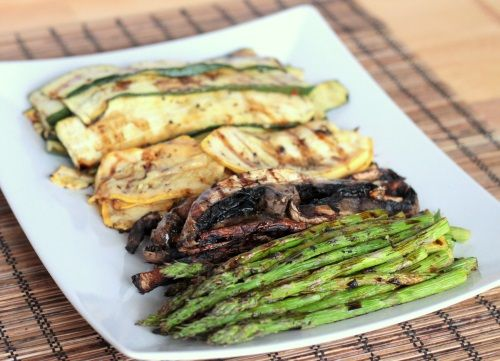 Marinated Grilled Vegetables Recipe (side dish)