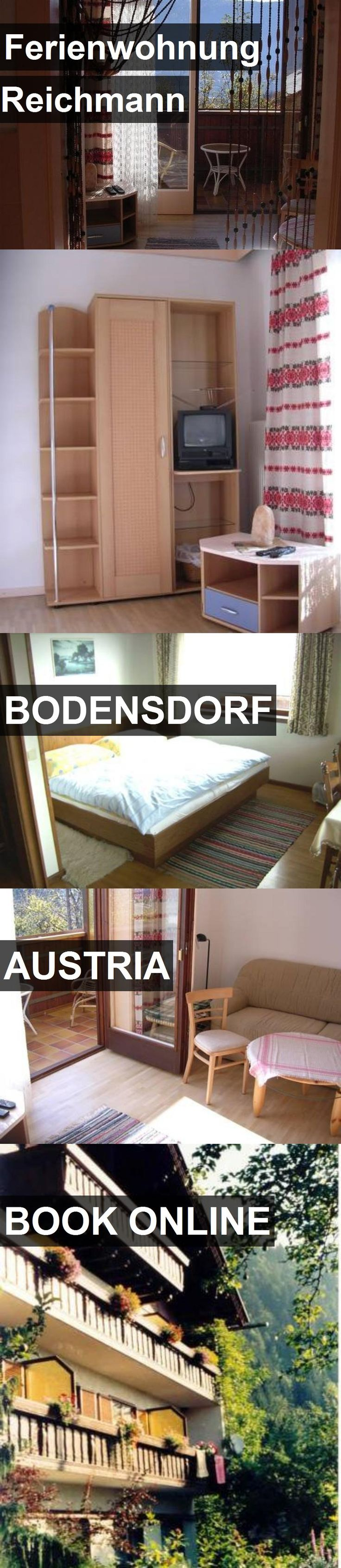 Hotel Ferienwohnung Reichmann in Bodensdorf, Austria. For more information, photos, reviews and best prices please follow the link. #Austria #Bodensdorf #travel #vacation #hotel