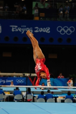 Best talent God has given me regardless if it was for a short time.I'll always love gymnastics
