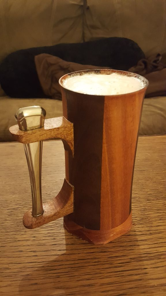 Beer Tankards on the Lathe
