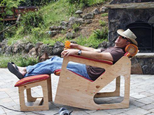Rok-Bak Chair by Larry Cotton