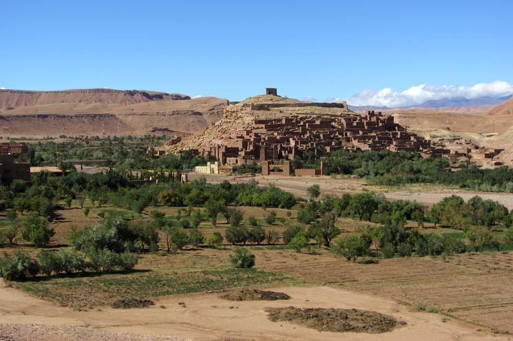 le ksar d'Ait ben Haddou, près de Ouarzazate, au Maroc.