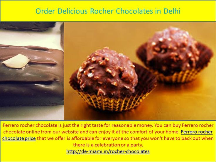 Ferrero rocher chocolate is just the right taste for reasonable money. You can buy Ferrero rocher chocolate online from our website and can enjoy it at the comfort of your home. Ferrero rocher chocolate price that we offer is affordable for everyone so that you won't have to back out when there is a celebration or a party.