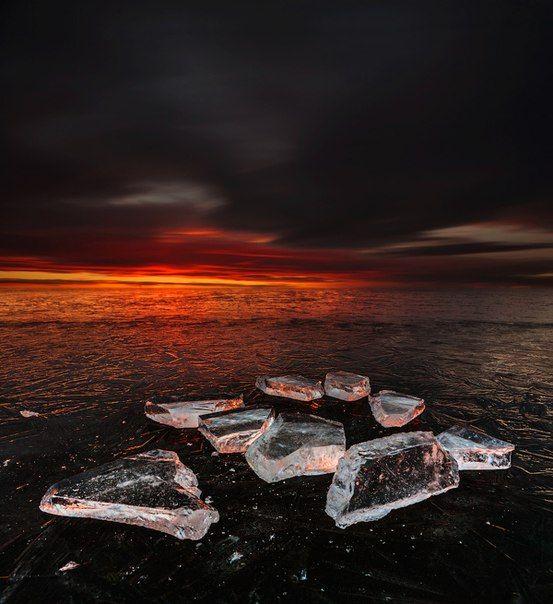 Озеро Аргази. Челябинская область   Озера, Фото на холсте ...