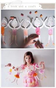 gymnast crafts