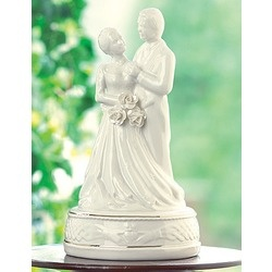 Belleek Claddagh Cake Topper
