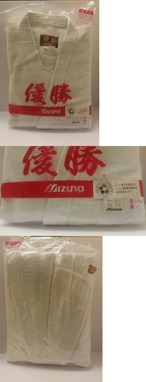 Uniforms and Gis 179774: Mizuno White Yusho Comp Ijf-Approved Judo Uniform Size 5, 02001 -> BUY IT NOW ONLY: $149.99 on eBay!