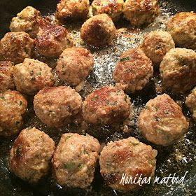 Köttbullar är svensk husmanskost, men säger man Italienska köttbullar så låter det genast lite festligare eller hur? Samma smet men lite a...