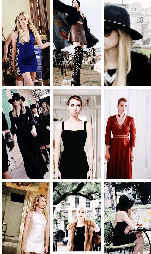 american horror story + fashion | MADISON MONTGOMERY